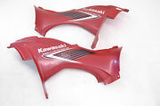 05 Kawasaki Brute Force 750 4x4 Side Covers Panels Fenders Left And Right Kvf750