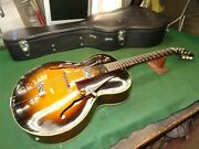 1956 Gibson L-48 Acoustic Archtop / Electric And039with Case 1953 1954 1955 Vintage