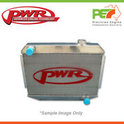 New Pwr 42mm Radiator With Dash -20 Outlets For Chevrolet 1955 Ute Pwr5960