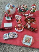 Vintage Lot Of 11 Campbell's Soup Collectable Holiday Xmas Ornaments