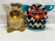 Lot 2 Furby, 1998 And 2012 Non-working For Parts/repair Only As-is