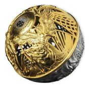 Heaven And Hell Sphere 2021 Samoa 2oz Silver Coin 24k Gold Plated 5