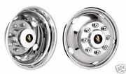 17 03-09-011-012-013-014 Dodge 3500 Dually Wheel Covers Bolt On Stainless Steel