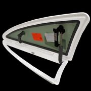 Bomar Doral Boat Port Window With Aluminum Frame Green Tint