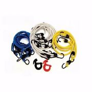 Attwood 11712-7 Boat Bungee Cord Set 24 - 30 - 42 Foot - Set Of 18