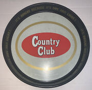 Country Club Beer Serving Tray From Goetz Brewing Co. In St. Joseph Mo