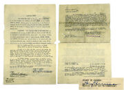 Harry Truman / Quit-claim Deed Typed Land Grant Early Signature As Commissioner