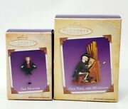 2004 Hallmark Halloween Ornaments Decorations The Master Old Ned Musician Lot 2