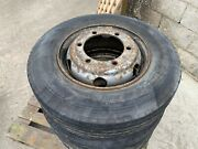 Set Of 6x 215 75 R17.5 Wheels +tyres 6 Stud Mercedes Atego / Man..andpound300+vat