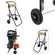 30 Hp Outboard Motor Cart Engine Stand Folding Handle