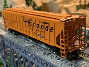 Ho Scale Athearn 54and039 Ps Hopper Rio Grande Dandrgw Metal Wheels Detailed Quality