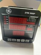 Ge Epm 3000p Power Meter W/ Back Module -multilin Metering General Electric