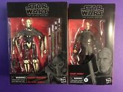 Star Wars The Black Series Count Dooku And General Grievous Action Figures