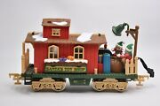 Holiday Express Christmas Electric Train Replacement Santa's Toy Shop New Bright