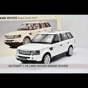Autoart 118 Diecast Car Model Land Rover Range Rover Sport Limited Collection