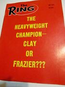 May 1970 The Ring Magazine Boxing Wrestling Cassius Clay Joe Frazier E014