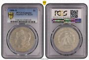 United States 1886 O 1 Dollar Morgan Pcgs Genuine Unc Details Scarce This Nice