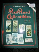 Railroad Collectibles By Stanley Baker 4th Edition 1996 Prices Soft Cover