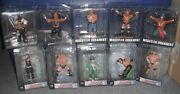 Wwe/wwf Wrestlers Ornaments Figures Lot By Forever Collectibles Display Only