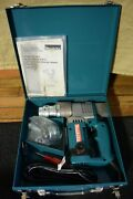 Makita Shear Wrench Model 6922nb With 2 Sockets  Used 1 Time