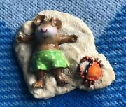 Wee Forest Folk Alone At Last -green- M-236 Mouse Beach