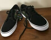 Maui And Sons Black W/camo Trim Canvas Sneakers Size 12 Nwob