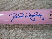 David Wright Signed Pink Bat - Mothers Day Marucci Model - New York Mets - Mint