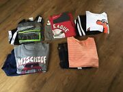 Nwt Toddler Boys Size 4/4t Summer Clothing Lot Shirts/ Shorts Outfitslot Of 10