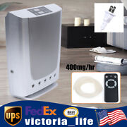 Air Purifier Home Odor Eliminator Ozone Generator Cleaner Plasma Ionizer 400mg/h