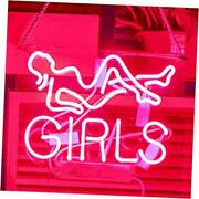 Gilrs Neon Lights For Bar Pink Neon Signs For Wall Room Decor Model Girls Pink
