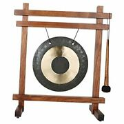 Wtg The Original Guaranteed Musically Tuned Chime Table Gong Teak