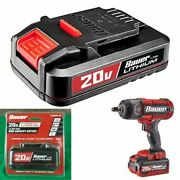 Bauer Compact Battery 20 V High Capacity 1.5 Ah Lithium Ion Handheld Power Tools