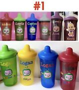 Personalized Cocomelon Sippy Cups/water Bottles/color Changing Cups