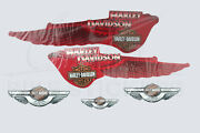 Harley-davidson Wings Graphic Decal Stickers Set