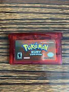 Pokemon Ruby Version - Authentic -game Boy Advance-tested- Dry Battery - Read