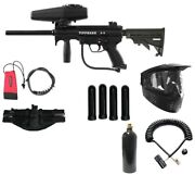 Tippmann A5 Extreme Sniper Paintball Rifle Gun Tactical Pack New Army Kit New