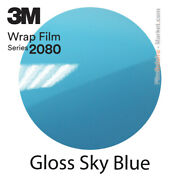 Gloss Sky Blue 3m 2080 G77 New Series Car Wrapping Total Covering Film
