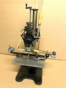 Embossing Hot Foil Gold Stamping Machine Kwikprint 86 Great Working Condition