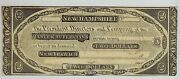 18xx New Ipswich New Hampshire Manufacturers Bank 2 Obsolete Currency 1810s