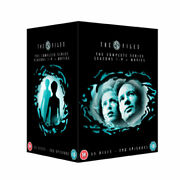 The X Files Complete Seasons 1-9 And 2 Movies New Pal Cult 55-dvd Set Duchovny