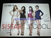 Sistar The First Album So Cool Autographed Signed Cd Good Condition Rare Album