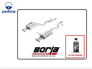 Borla Axle-back Exhaust S-type W/ss Cleaner For 08-13 E92 M3 Coupe 11764