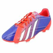 Boys Adidas Lace Up Trainers Lionel Messi Football Boots F10 Trx Fg J