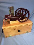 Reid 1/8 Scale B And H Burns And Horner Model Hit Miss Gas Engine