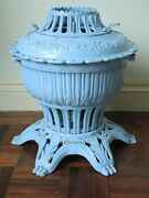 Victorian Cast Iron Freestanding And039omegaand039 Gas Stove
