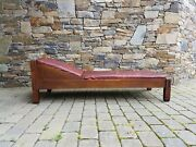 1910s Original Stickley Bros. Signed Oak Daybed/chaise Lounge - Original Finish