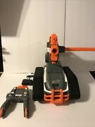 Terrascout Nerf Rc Drone N-strike Elite Blaster With Controller Clip Mag Charger