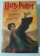 Harry Potter And The Deathly Hallows True 1st Edition / 1st Print Hardcover