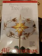 Mr Christmas Floating Animated Tree Top And Stand Illuminated Star Trumpet Angels