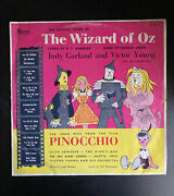 The Wizard Of Oz, The Song Hits From The Film Pinocchio 30 Cm Lp Record